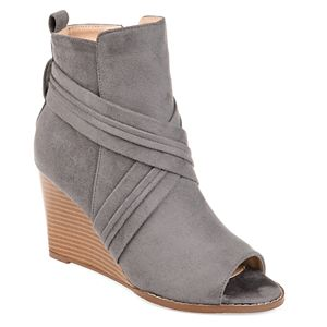 Journee Collection Sabeena Women's Wedge Ankle Boots