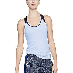 8c81f0677e1ca2 Women s Under Armour Speed Stride Run Tank. Oxford Blue. clearance
