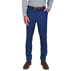Men's Billy London Slim-Fit Stretch Flat-Front Suit Pants