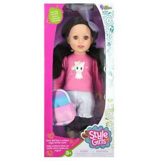 New Adventures Style Girls 18-in. Tayla Doll