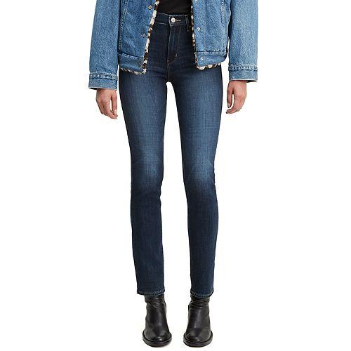 Women's Levi's 724 High-Waisted Straight-Leg Jeans