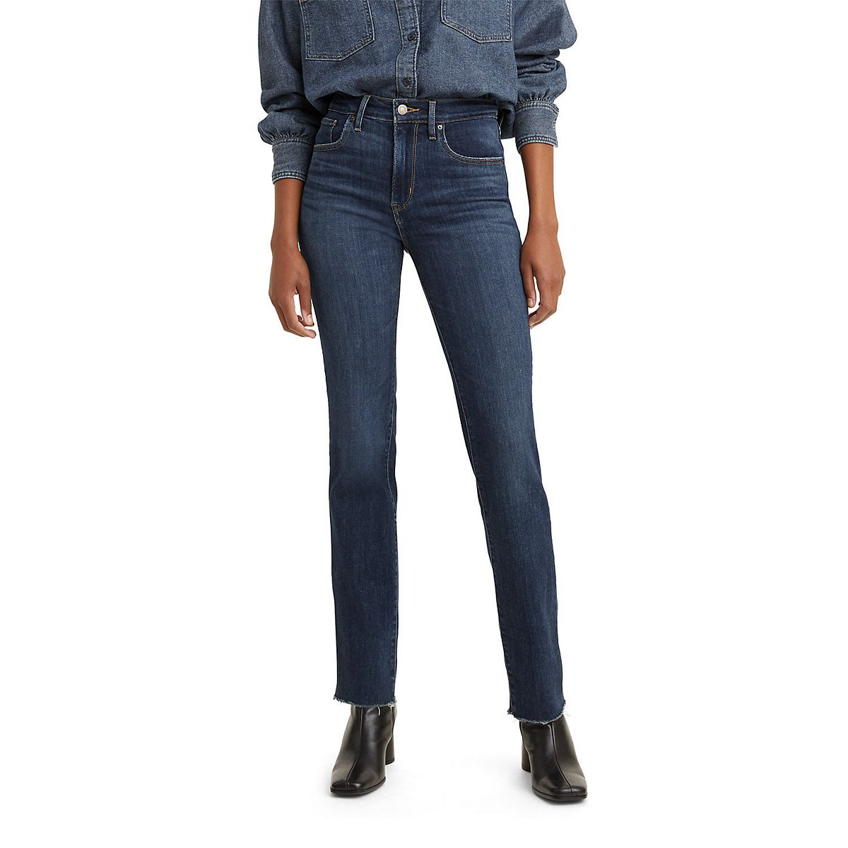 Women's Levi's® 724 High-Waisted Straight-Leg Jeans (Was $69.50, Now $41.70)