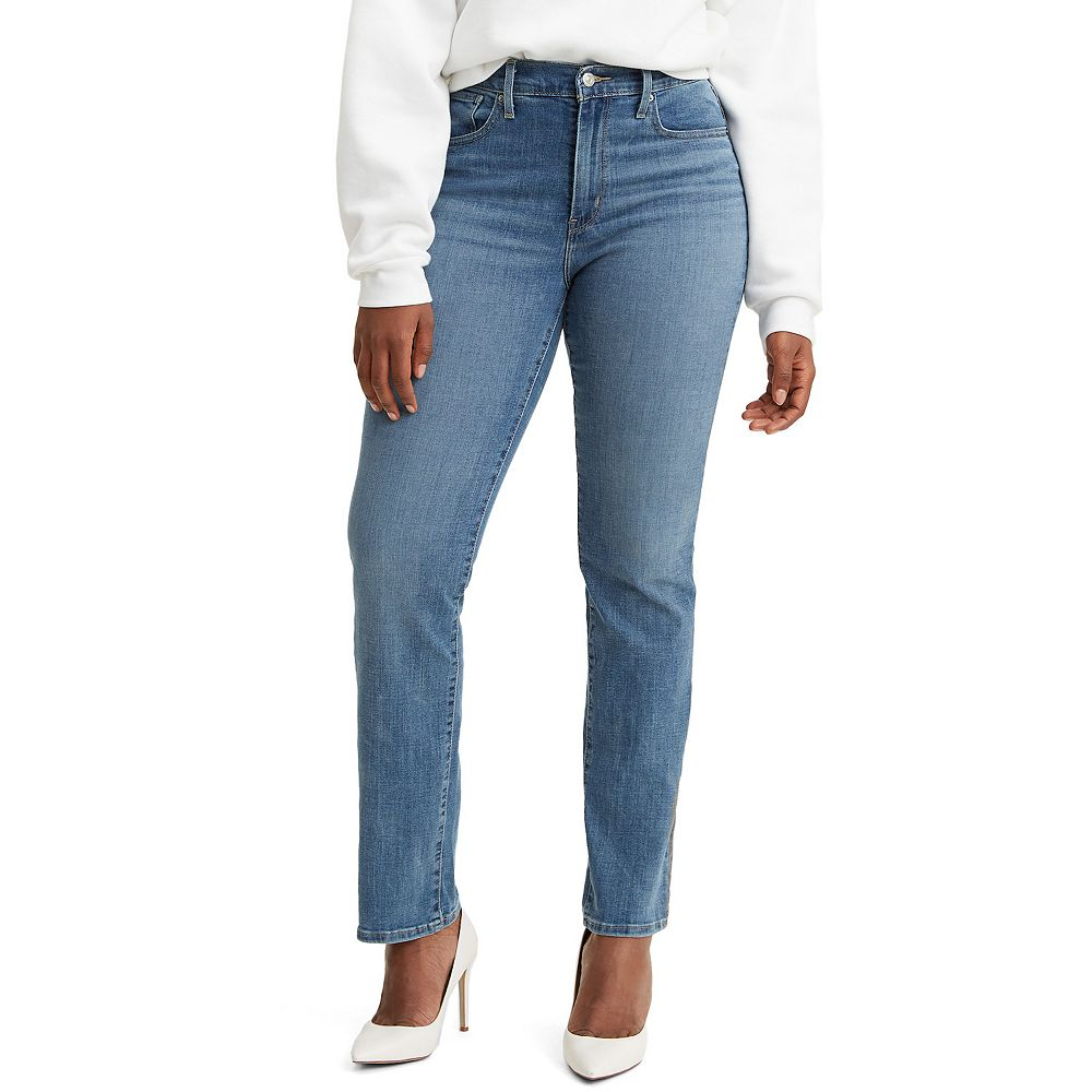 Women's Levi's® 724 High-Waisted Straight-Leg Jeans