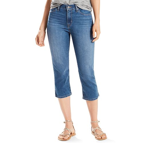 bea3f10f158 Women's Levi's® Classic Capri Jeans