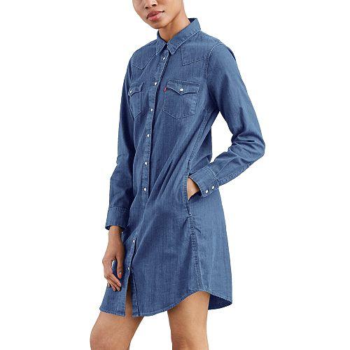 Women's Levi's® Ultimate Western Jean Shirtdress