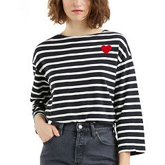 Women's Levi's® Heart Striped Tee