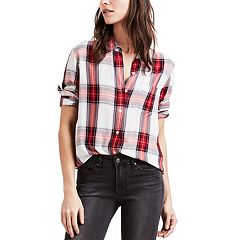 Women's Levi's® Ultimate Plaid Boyfriend Shirt