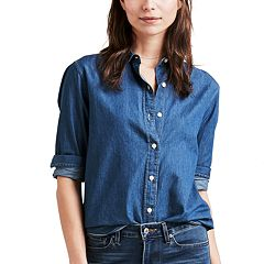 Women's Levi's® Ultimate Boyfriend Button-Back Shirt