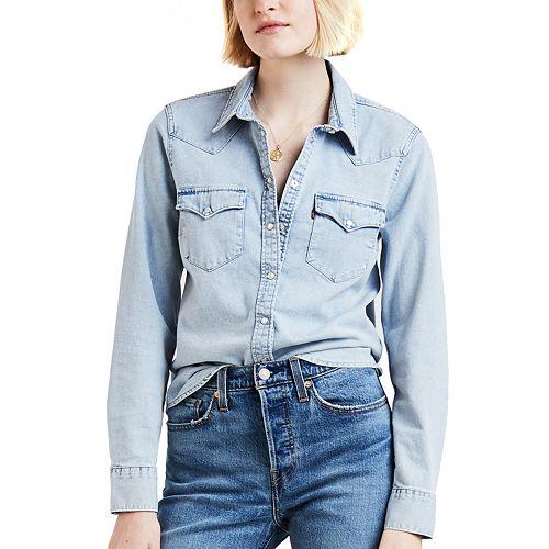 Women's Levi's® Ultimate Western Denim Shirt