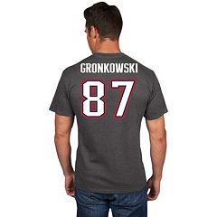 Men's Majestic New England Patriots Rob Gronkowski Eligible Receiver Tee