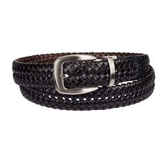 Men's Croft & Barrow® Reversible Braided Belt