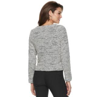 Women's Apt. 9® Boucle Tweed Blazer
