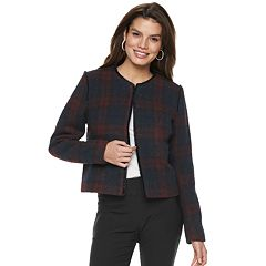 Women's Apt. 9® Boucle Tweed Blazer