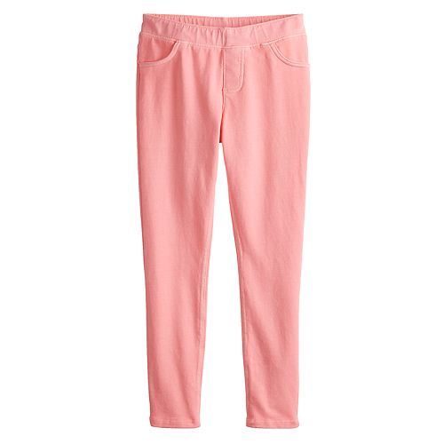 Girls 4-12 Jumping Beans® Solid French Terry Pants