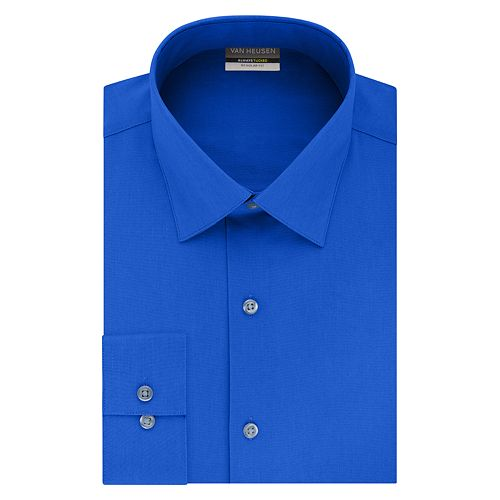 Men's Van Heusen Regular-Fit Always Tucked Stretch Dress Shirt