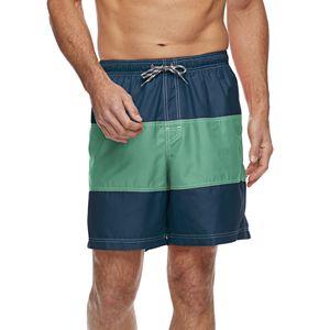 06f90b2ebd2d8 Men's Croft & Barrow® Solid Swim Trunks