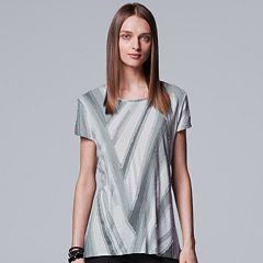Women's Simply Vera Vera Wang Essential Textured Tee