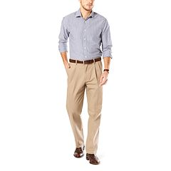 Big & Tall Dockers® Stretch Signature Khaki D3 Classic-Fit Pleated Pants
