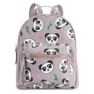 OMG Accessories Glitter Panda Mini Backpack
