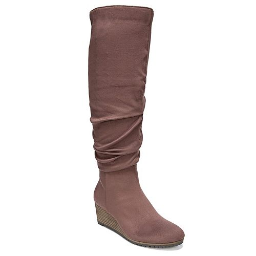 Dr. Scholl's Central Women's Wedge Knee High Boots