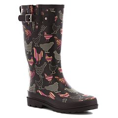 Western Chief Printed Women's Waterproof Rain Boots