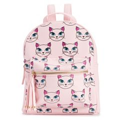 OMG Accessories Glitter Cat Mini Backpack