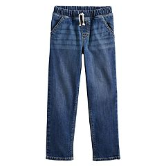 Boys 4-12 Jumping Beans® Pull On Jeans in Regular & Husky