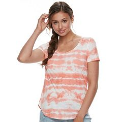 Juniors' Mudd® Roadtrip Scoopneck Tee