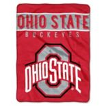 "Ohio State Buckeyes 60"" x 80"" Raschel Throw Blanket"