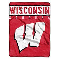 Wisconsin Badgers 60' x 80' Raschel Throw Blanket