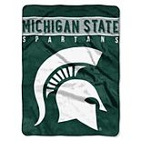 "Michigan State Spartans 60"" x 80"" Raschel Throw Blanket"