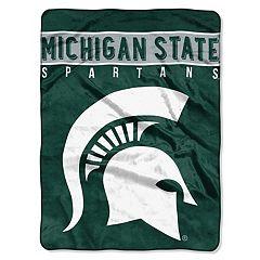 Michigan State Spartans 60' x 80' Raschel Throw Blanket
