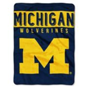 "Michigan Wolverines 60"" x 80"" Raschel Throw Blanket"