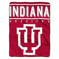 Indiana Hoosiers 60' x 80' Raschel Throw Blanket