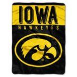 "Iowa Hawkeyes 60"" x 80"" Raschel Throw Blanket"