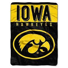 Iowa Hawkeyes 60' x 80' Raschel Throw Blanket