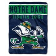 "Notre Dame Fighting Irish 60"" x 80"" Raschel Throw Blanket"