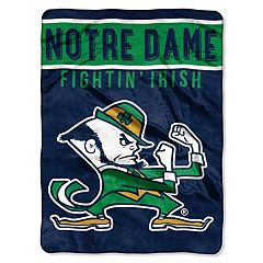 Notre Dame Fighting Irish 60' x 80' Raschel Throw Blanket