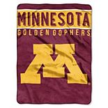 """Minnesota Golden Gophers 60"""" x 80"""" Raschel Throw Blanket"""
