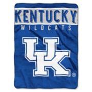 """Kentucky Wildcats 60"""" x 80"""" Raschel Throw Blanket"""