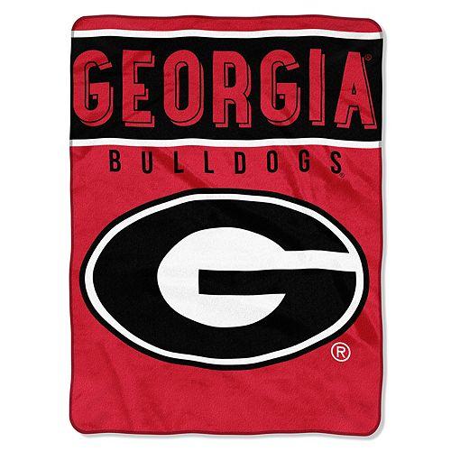"Georgia Bulldogs 60"" x 80"" Raschel Throw Blanket"