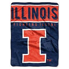 Illinois Fighting Illini 60' x 80' Raschel Throw Blanket