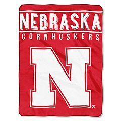 Nebraska Cornhuskers 60' x 80' Raschel Throw Blanket
