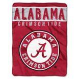 "Alabama Crimson Tide 60"" x 80"" Raschel Throw Blanket"