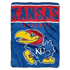 Kansas Jayhawks 60' x 80' Raschel Throw Blanket