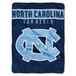 """North Carolina Tar Heels 60"""" x 80"""" Raschel Throw Blanket"""