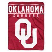 "Oklahoma Sooners 60"" x 80"" Raschel Throw Blanket"