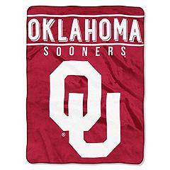 Oklahoma Sooners 60' x 80' Raschel Throw Blanket