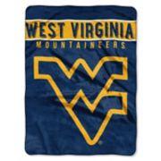 """West Virginia Mountaineers 60"""" x 80"""" Raschel Throw Blanket"""