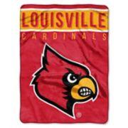 """Louisville Cardinals 60"""" x 80"""" Raschel Throw Blanket"""